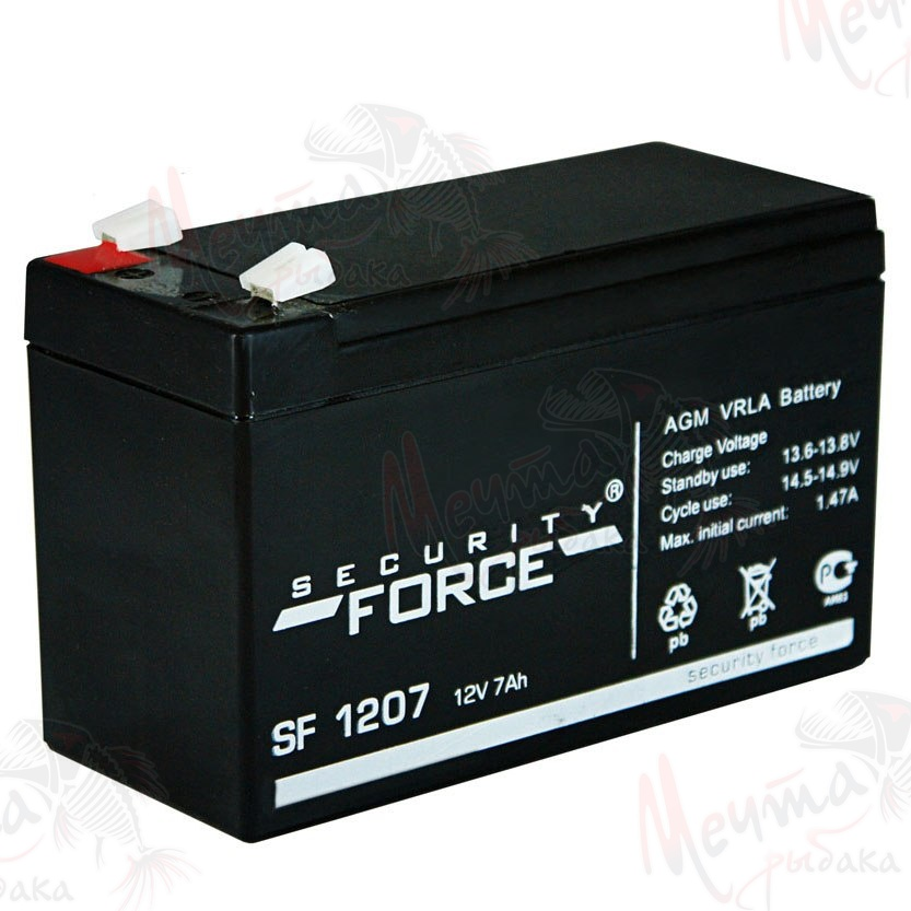 "БАТАРЕЯ ""SECURITY FORCE"" 12V 7Ah #SF 1207"